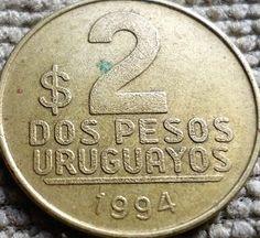 Moeda do Uruguai 1994