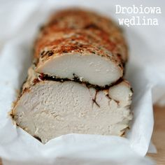 DROBIOWA WĘDLINA | Lepszy Smak Polish Recipes, Polish Food, Poultry, Ale, Appetizers, Ice Cream, Cheese, Dinner, Ethnic Recipes
