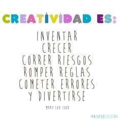 La #creatividad es: