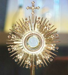 """...the Eucharist consoles a soul far beyond what the world can offer.""  — St. Alphonsus"