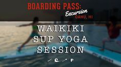 Check out the latest SUP yoga session video by Pau Hana Surf Supply