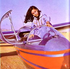 Beautiful IRAN before The Dark Islamic Revolution 1979 - Iranian woman Pilot (1960s)