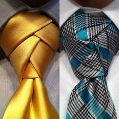 I really like this tie knot. eldredge-trinity-tieknots.jpg (300×300)