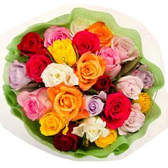 192 assorted roses from Sam's Club only $112! Add baby's breath for simple and pretty wedding flower arrangements.
