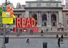 READ Sculpture Made of 25,000 Dr. Seuss Books at New York Public Library