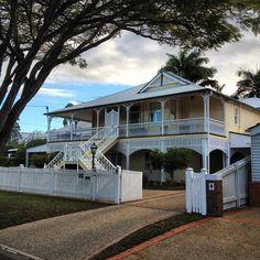 Queenslander style house in Ascot, Brisbane.