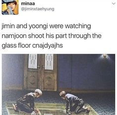 Blood sweat and yoonmin