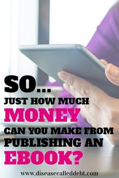 Thinking about self-publishing an ebook but not sure whether the financial reward will be worth the effort? The final article in my make money from ebooks series covers just how much money you can make from self-publishing eBooks online via Amazon.