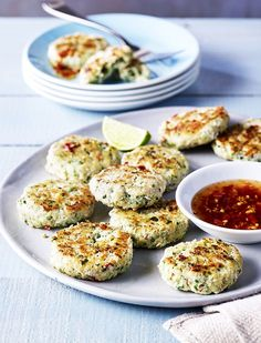 Thai Fishcakes With Chilli Dipping Sauce | sheerluxe.com