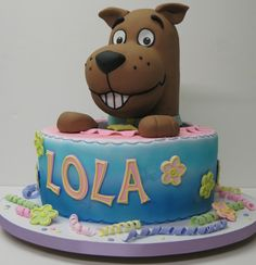 scooby-doo cake --- my boys would love it too much to eat it!! :)