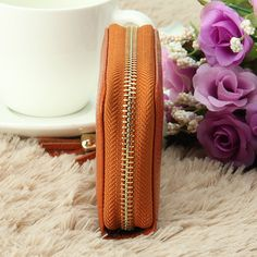 Hot-sale RFID Antimagnetic Genuine Leather 15 Card Slots Multi-slots Tassel Card Holder Coins Bag - NewChic