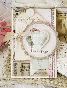 So Sorry For Your Loss Card by Melissa Phillips for Papertrey Ink (January 2014)