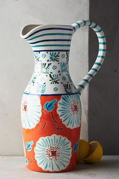 Illaria Pitcher - anthropologie.com