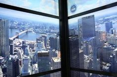 On Time-Lapse Rocket Ride to Trade Center's Top, Glimpse of Doomed Tower - NYTimes.com