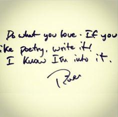 One of River's original quotes