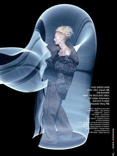 Tilda Swinton by Solve Sundsbo | Chanel, Alexander Wang, Haider Ackermann