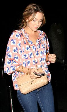 Lauren Conrad style with Tucker shirt, Braid and Chanel Bag Totes :|