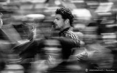 Movimento das pessoas ao redor criam efeito interessante na foto de Cauã Reymond   cliques da abertura de #AmoresRoubados   TV Globo  