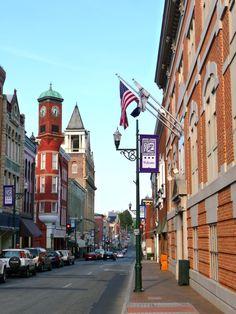 Historic downtown Staunton