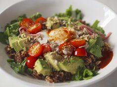 Egg & Quinoa Recovery Dish