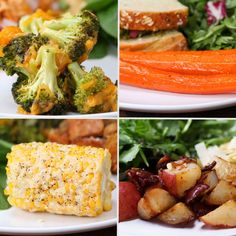 4 Easy 3-Ingredient Vegetable Side Dishes   Recipes