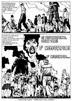 Pagina 69 - L'alba dei morti viventi - lo speciale #Halloween de #iSarcastici4. #LuccaCG15 #DylanDog #fumetti #comics #bonelli