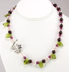 Free Bead Jewelry Making Ideas | Botanical Bliss Necklace