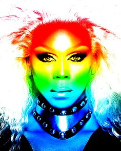 Ru paul rainbow