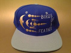 86a3818d61a Birds of a Feather Phish Snapback Hat two tone flat bill FREE SHIPPING  Wings Logo