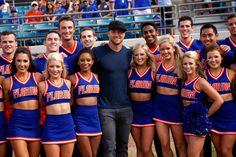 College Cheerleading, Dream School, Florida Gators, Georgia Bulldogs, Pretty Woman, Gymnastics, Morgan Reid, Cheer Skirts, Versace