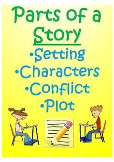 """This printable worksheet helps students understand the concepts of setting, characters, conflict, and plot.  It includes: 1. Quickwrite: Summarize the last TV show or movie you watched. 2. Quickwrite: What does every good story have in common? 3. Vocabulary: Setting, Characters, Conflict, Plot 4. """"Do the Right Thing"""" Story 5. Comprehension questions involving setting, characters, conflict, and plot."""
