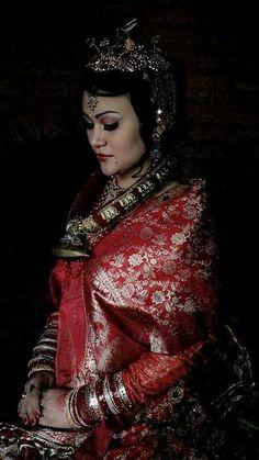 Tumblr traditional newari bride