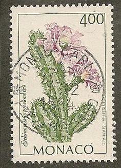 Monaco Scott 1892 Cactus, Flora Used - bidStart (item 42408706 in Stamps, Europe, Monaco)
