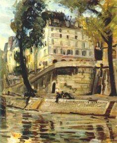 Joseph KLEITSCH  - Paris, 1926  (1882-1931) #Seine #Paris