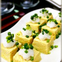 Easily Made In The Microwave! Soft Dashimaki  Tamago - Japanese Omelet With Tofu