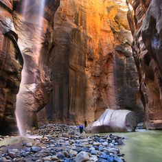 Zion National Park in Utah has made it to my list of places I would like to visit. Something about these vast canyons that can put human life into perspective.