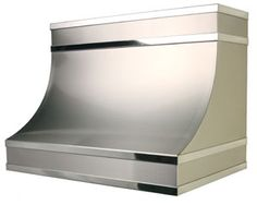 stainless steel range hood by copperworks