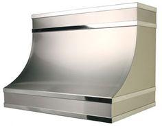stainless steel range hood by copperworks