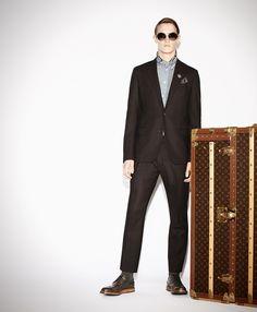 Louis Vuitton Men's PF '13 Look 02