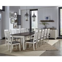 Tessa 8 Piece Solid Wood Dining Set