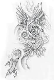 Image result for phoenix tattoos for women