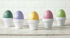 Easter Egg Mini Clay Pots