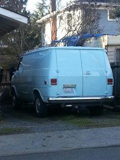 Clean Chevy van like the one i drove for a magazine co in beaumont tx