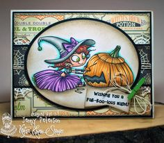 My Best Friends are Witches! [] - $23.99 : Kraftin Kimmie Stamps