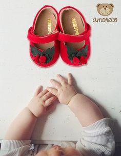 Amoreco é na Adoro Presentes! Com gostinho de quero mais. O sapatinho de moranguinho da Amoreco é uma doçura. Confira! #Amoreco #infantil #kids #crianças #children #AdoroPresentes #bebês #baby #SapatinhoInfantil #Sapatinho