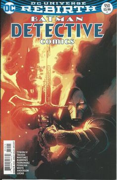 DC Universe Rebirth Batman Detective Comics issue 950 Limited variant