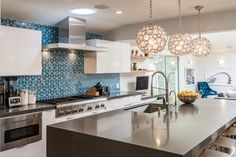 Eco-friendly kitchen backsplash options (that won't cost a bundle)