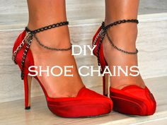 DIY shoe chains