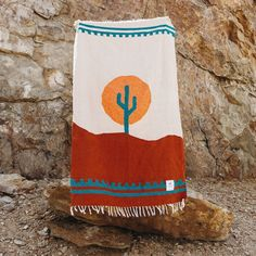 Arizona Desert Cactus Blanket. Yoga, Camping, Van Life, Home & Picnic. - Trek Light Gear Yoga Blanket, Beach Blanket, Camping Blanket, Picnic Blanket, Desert Design, Romantic Night, Binky, Arizona, Van Life