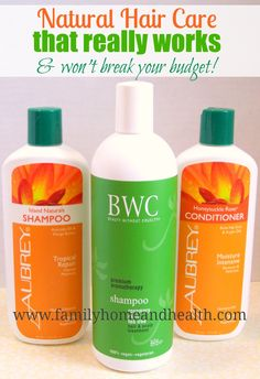 Have you been wanting to try using non toxic hair care products, but can't afford them?  See how I solved that problem!  Natural hair care that doesn't leave your hair dirty or frizzy!